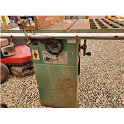 1594G - Grizzly Table Saw, model G1022, s/n 022867