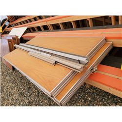 1594i - 3 only - 4' x 8' stacking wall panels with hardware track, (for dividing a room into 2 sect