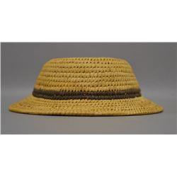 PAPAGO INDIAN BASKETRY HAT