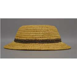 PAPAGO INDIAN BASKETRY HAT