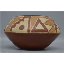 SAN JUAN INDIAN POTTERY BOWL