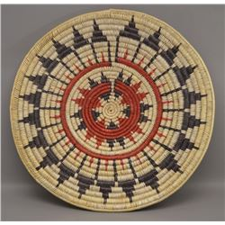 NAVAJO INDIAN WEDDING BASKET (NELLIE BLACK)