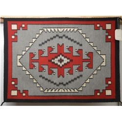 NAVAJO INDIAN TEXTILE (SARAH BEGAY)