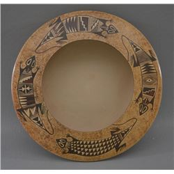 HOPI INDIAN POTTERY BOWL (NONA NAHA)