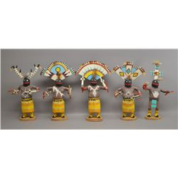 NAVAJO INDIAN APACHE GAN CROWN DANCER SET