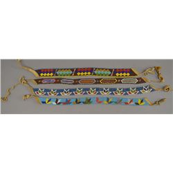 PLAINS INDIAN BEADED CHOKERS