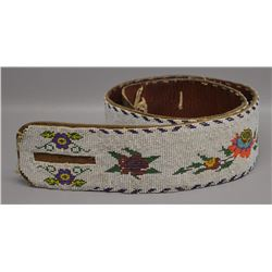 PLAINS INDIAN BEADED BELT