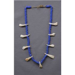 PLAINS TRADE BEAD NECKLACE