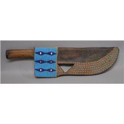 BLACKFOOT INDIAN KNIFE SHEATH