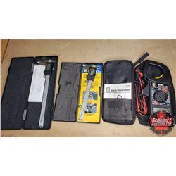 Digital Clamp Meter & Digital Calipers (2)