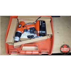 Black & Decker 18V Drill w/Case & Assorted Bits