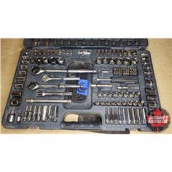 """Mastercraft Tool Kit (1/2"""", 3/8"""" & 1/4"""" Ratchets, Sockets, Flat Wrenches, etc)"""