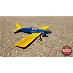 "RC Airplane : Four-Star 60 (Wing Span: 71"") (Overall Length: 57"")"