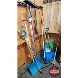 Yard & Garden Long Handled Tools (Rakes, Shovels, Roof Rake, Branch Trimmer, etc)