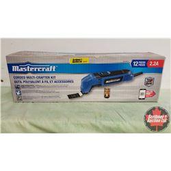 Mastercraft Corded Multi-Crafter Kit (Oscillating Tool)