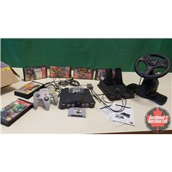 Nintendo 64 w/Games & Accessories