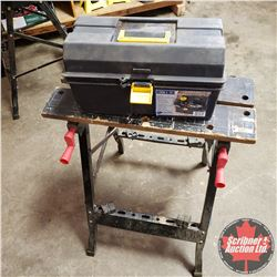 Workmate and Tool Box w/Clamps