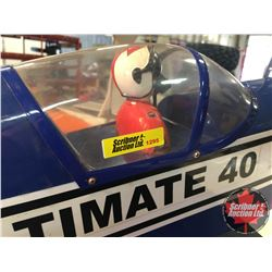 """RC Airplane : Ultimate 40 Bi-Plane (Wing Span: 42"""") (Overall Length: 46"""")"""