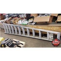 Aluminum 12' Step Ladder (Repaired)