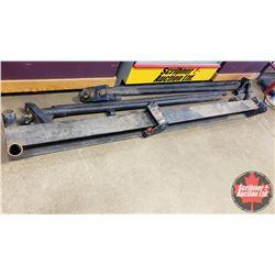 """Homemade A-Frame Hoist (I-Beam Length 105"""") - Needs Assembly"""