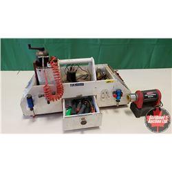RC Remote Control Field Box w/Contents
