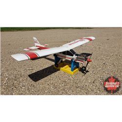 """RC Airplane : Hobbico Nexstar N310MF (Wing Span: 69"""") (Overall Length: 57"""") w/Stand"""
