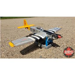"""RC Airplane : """"Marie"""" Hangar 9 (Wing Span: 59"""") (Overall Length: 50"""") w/Stand"""