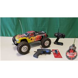 RC Nitro Monster Truck MGT 8.0 - Ready to Run 4WD - 1:8 Scale (With Remote, Starter & Glow Plug Star