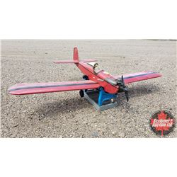 """RC Airplane : Astro-Hog (Wing Span: 71"""") (Overall Length: 53"""") w/Stand"""