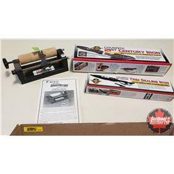 Tray Lot: RC Airplane Parts & Accessories (21st Century Iron, Stripe Cutting Tool & Trim Sealing Iro