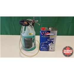Cool Power Total Synthetic Model Engine Fuel (3/4 Full) w/Pump & Starter & Power Master RC Motor Spo