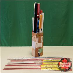 Box Lot: Variety of Mono Kote & Lazer Rods
