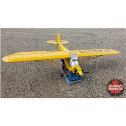 "RC Airplane : NC88073 (Wing Span: 81"") (Overall Length: 52"") w/Stand"