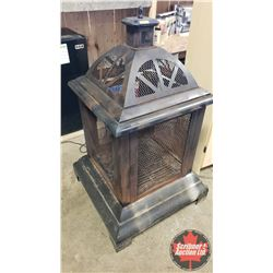"Outdoor Fireplace (29""L x 29""W x 46""H)"