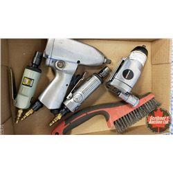 """Tray Lot: Pneumatic Tools (Butterfly Impact, Die Grinder, 3/8"""" Drive Impact, Die Grinder & Steel Wir"""