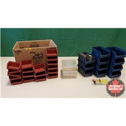 Box Lot: Plastic Organizers
