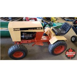 Case 222 Lawn Tractor - Hydraulic Drive (Repainted) (Won't stay running - Needs Tune Up)