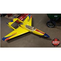 """RC Airplane : Bobcat-52 Swept Wing Rear Engine (Wing Span: 51"""") (Overall Length: 60"""")"""