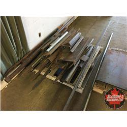 Assortment of Scrap Metal & Cut Offs (2 Pallets)