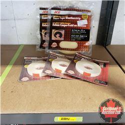 New/Old Stock : Foam Tape Weather Strip & Window Kit Tape