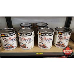 New/Old Stock Paint : General Paint - Kitchen & Bath - Latex for Interior Surfaces - Eggshell Accent