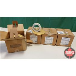 New/Old Stock - 4 Box Lots : 3M Scotchcal Luminous Tape 5900 (Glow in the Dark) (6 Rolls per Box = 2