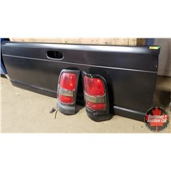 Tailgate (2nd Gen Dodge) & 2 Tail Lights