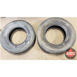 Tires (2) : Bridgestone LT245/75R16 & Kelly 235/75R15