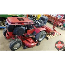 """Wheel Horse 520-H Ride On Lawn Tractor (Mower Deck 48"""") with Tiller (36"""") & Blade (48"""") Attachments"""