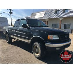 2002 Ford F150 XRT 4x4 Black (Mileage not showing)