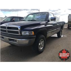 1996 Dodge 1500 - 4x4 Mag V8 (338,465kms on ODM) (Consignor Note: 4WD Linkage needs attention)