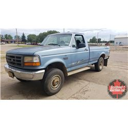 1996 Ford F250 4x4 - 5Spd - 460 V8 w/AC (159,833kms on ODM) (One Owner)