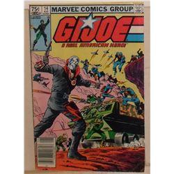 Very rare GI Joe Volume 1 #14 August 1983 - bande dessinée très rare