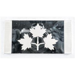 925 Sterling Silver flag, 'The Original Maple  Leaf flag ' 84.62grams